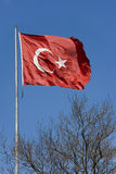Turkish Flag - Turkey. The national flag of Turkey stock photos