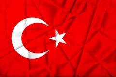 Turkish Flag, Turkey, Flag Design Stock Photography