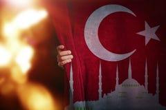 Turkish Flag, Turkey, Flag Design Stock Image