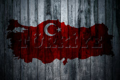 Turkish Flag, Turkey, Flag Design. Turkey Flag, Flag design and presentation study royalty free stock photography