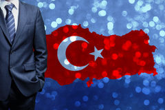 Turkish Flag, Turkey, Flag Design. Turkey Flag, Flag design and presentation study stock photography
