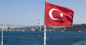 Turkish flag - Turkey stock photography