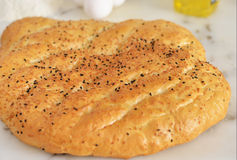 Turkish flat bread Stock Images