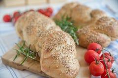 Turkish flat bread Stock Photos