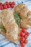 Turkish flat bread Stock Image