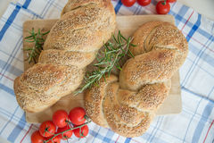 Turkish flat bread Royalty Free Stock Image