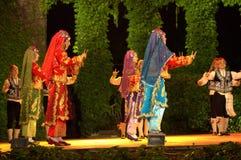 Turkish folk dance Stock Photo