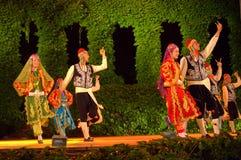 Turkish folk dance spectacle Stock Photo