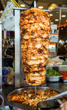 Turkish food Doner Kebab Stock Images