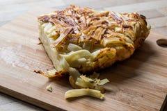 Turkish food  Makarna Boregi / Macaroni Timbale. Stock Photo