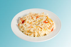 Turkish food - Rice Pilaf Royalty Free Stock Image