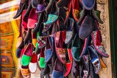 Turkish footwear Royalty Free Stock Images