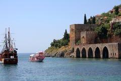 Turkish fortress Royalty Free Stock Photo
