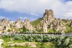 Turkish fortress of Uchisar, Cappadocia, Stock Image