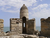 Turkish fortress Yenikale. In Kerch, Crimea Royalty Free Stock Photo