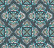 Turkish garnetl pattern Royalty Free Stock Image