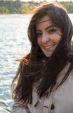 Turkish girl smiling Stock Image