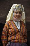 Turkish girl in traditional cloth Royalty Free Stock Photography