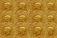 Turkish Gold Royalty Free Stock Photo