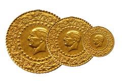 Turkish Gold Stock Image