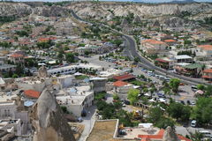 Turkish Goreme village Royalty Free Stock Photo