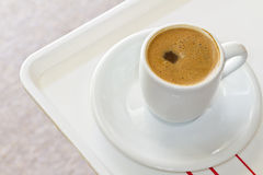 Turkish or greek coffee Stock Image