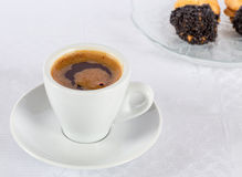 Turkish (or Greek) coffee Stock Photos