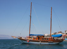 Turkish gulet boat Turkey Stock Photos