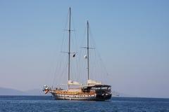 Turkish gulet sailing boat Royalty Free Stock Photos