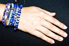 Turkish handmade jewellery - proroc eye Royalty Free Stock Images