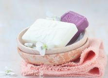 Turkish handmade  olive soap Royalty Free Stock Image