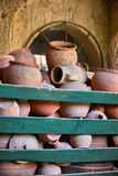 Turkish Handmade Pots Stock Images