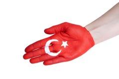 A turkish handshake Stock Images