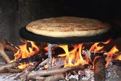 Turkish homemade baked bread Royalty Free Stock Photos