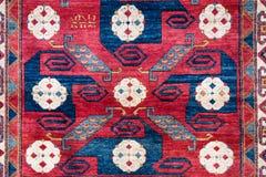 Turkish homemade carpet. Store on arabic bazaar Stock Images
