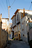 Turkish homes in Ayvalik Royalty Free Stock Image