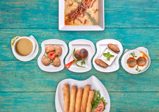 Turkish Hot Appetizers Stock Photos
