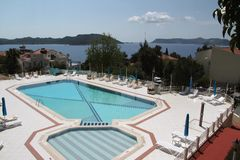 Turkish Hotel Pool Stock Images