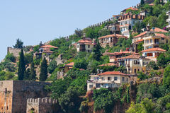 Turkish houses Royalty Free Stock Images