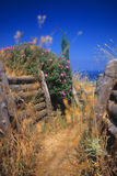 Turkish infantry trenches, Gallipoli Royalty Free Stock Photography