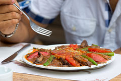 Turkish Iskender Doner Royalty Free Stock Image