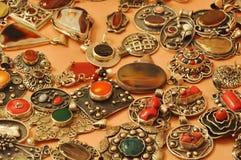 Turkish Jewelery. Different ethnic Turkish Jewelery stock photos