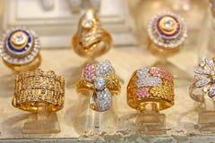Turkish jewelry Store stock photography