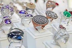 Turkish jewelry Store royalty free stock photos