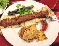 Turkish Kabab Stock Image