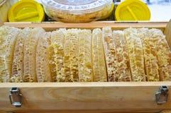 Turkish karakovan honey. Organic and natural stock photo
