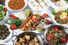 Turkish Kebab Stock Image