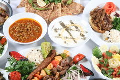 Turkish Kebab Stock Photo