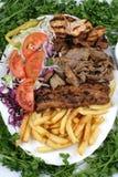 Turkish kebab. Best quality turkish kebab image Stock Photo