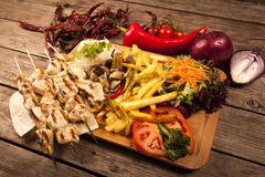 Turkish Kebab Stock Photos